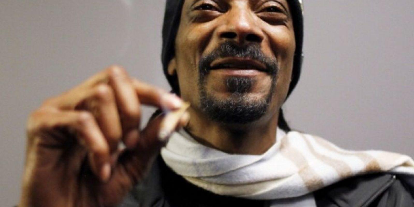 El rapero Snoop Dogg también entró al negocio de las apps. Foto:Getty Images