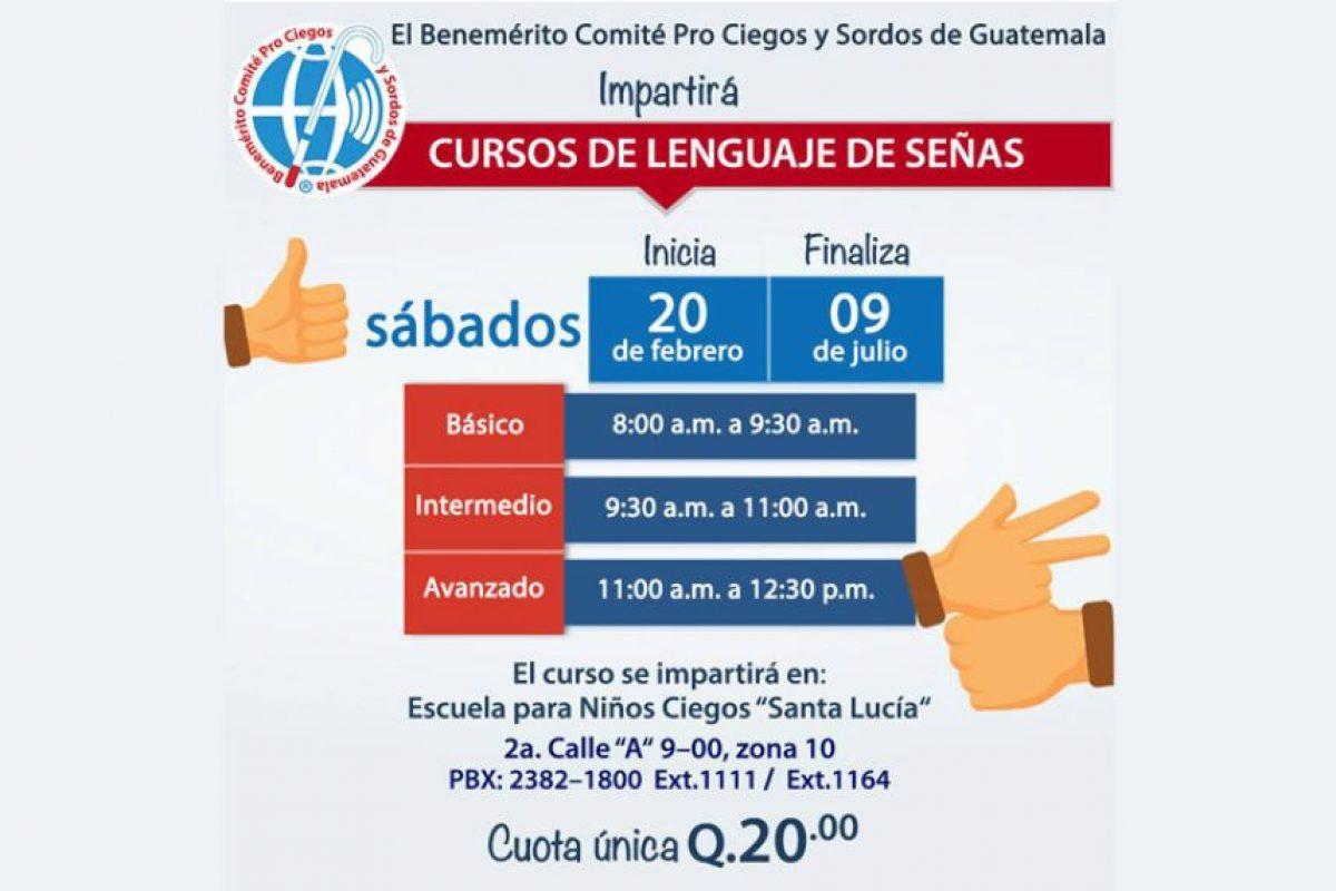 Foto:Comité Pro Ciegos y Sordos/Facebook