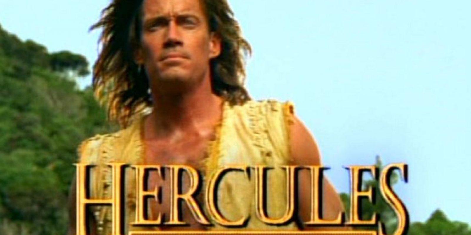 Kevin Sorbo interpretó al héroe mitológico en la serie de 1994. Foto:vía Redifusión
