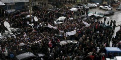 Como si esto no fuera suficiente, los habitantes sufren de bajas temperaturas del invierno sirio. Foto:vía Twitter