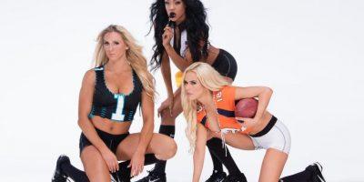 Y las Divas de la WWE quisieron unirse a la celebración. Foto:WWE