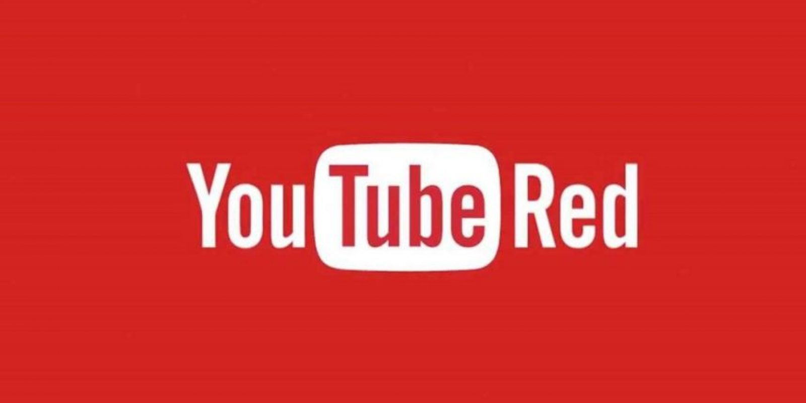 YouTube Red ya está disponible en los Estados Unidos. Foto: Vía YouTube