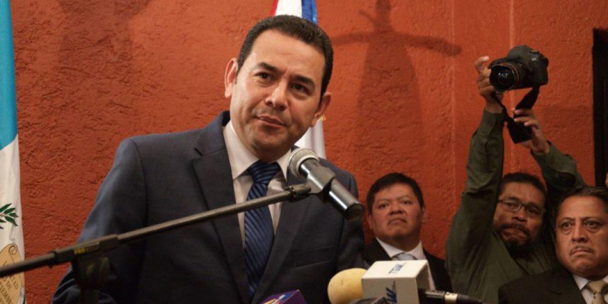 Partido del presidente Jimmy Morales recibe a estos diputados tránsfugas