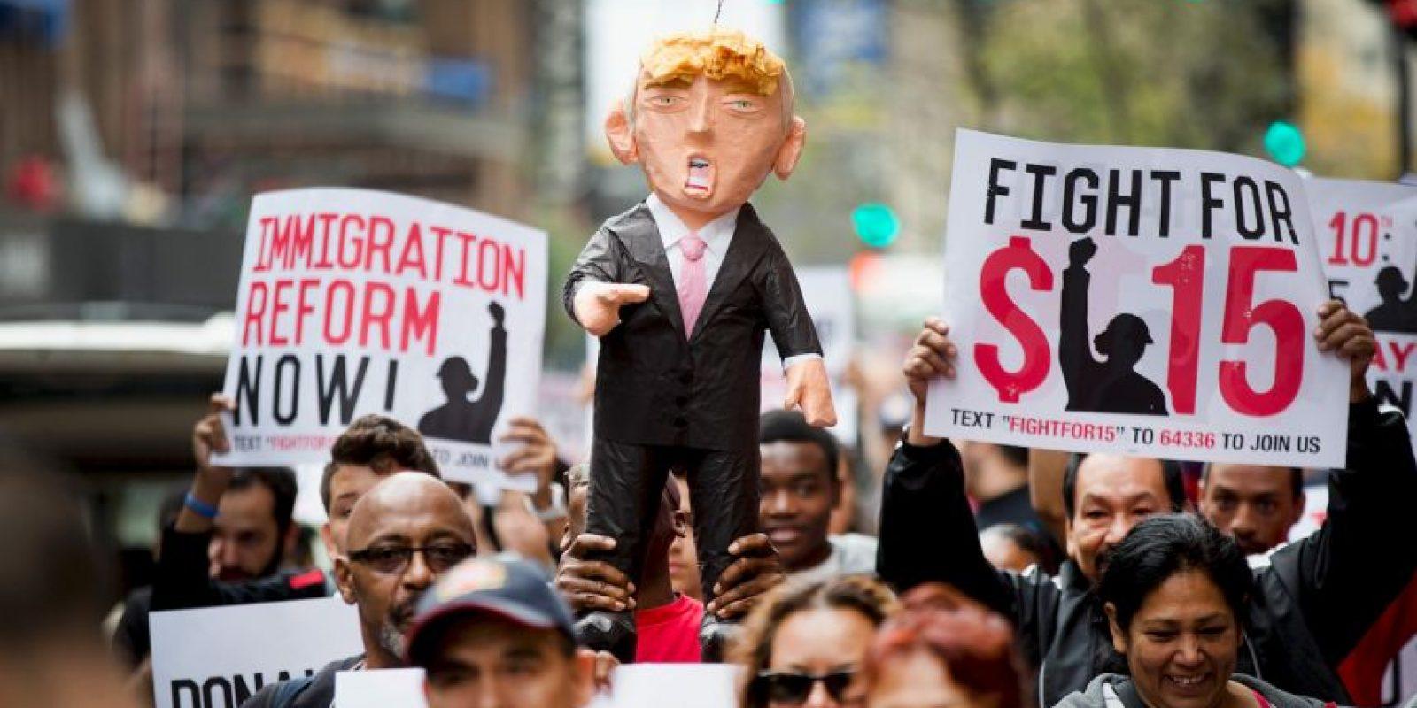 Durante su campaña política a causado distintas polémicas. Foto:Getty Images