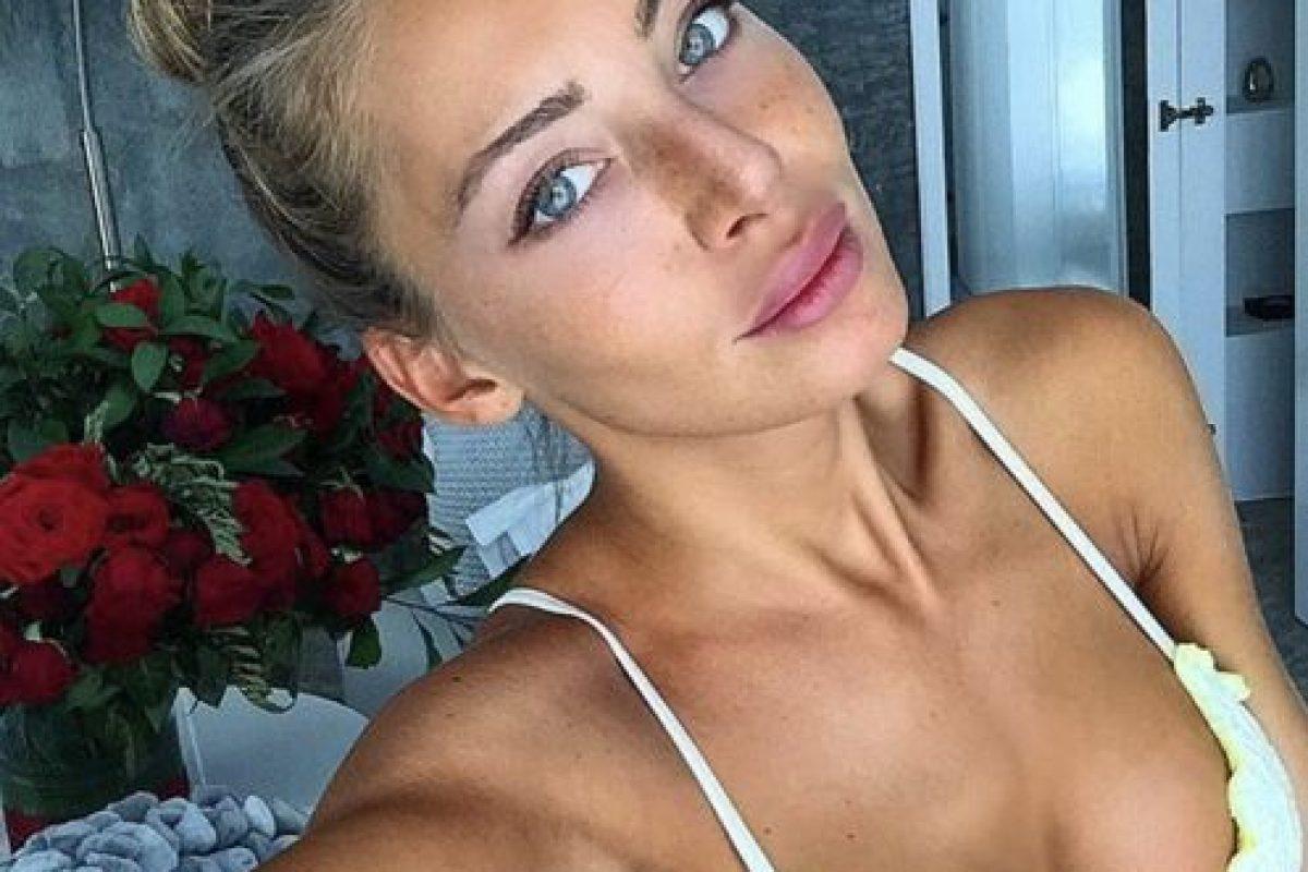 """La modelo italiana también fue """"novia"""" del portugués, según la prensa. Foto:Vía instagram.com/alessiatedeschi91"""