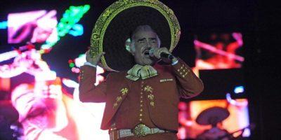 Vicente Fernández dirá adiós con concierto gratuito en abril