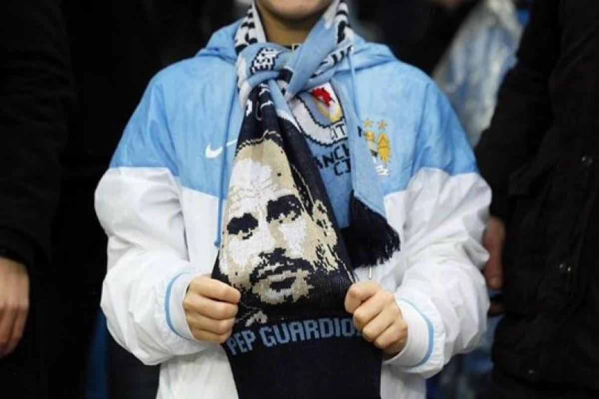 Pero en Etihad Stadium ya está presente la figura de Pep Guardiola. Foto:Vía twitter.com/Squawka