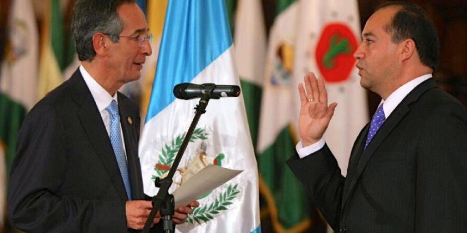 Conrado Reyes fue nombrado fiscal general en 2010 por el presidente Álvaro Colom. Foto:Publinews