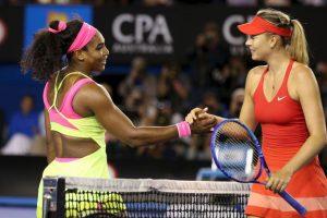 """Además, Serena lleva 18 victorias consecutivas sobre """"Masha"""". Foto:Getty Images"""
