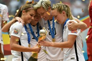Ganó el Mundial de 2015 con Estados Unidos. Foto: Getty Images