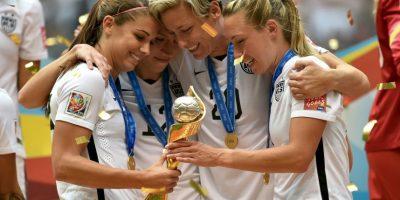 Ganó el Mundial de 2015 con Estados Unidos. Foto:Getty Images