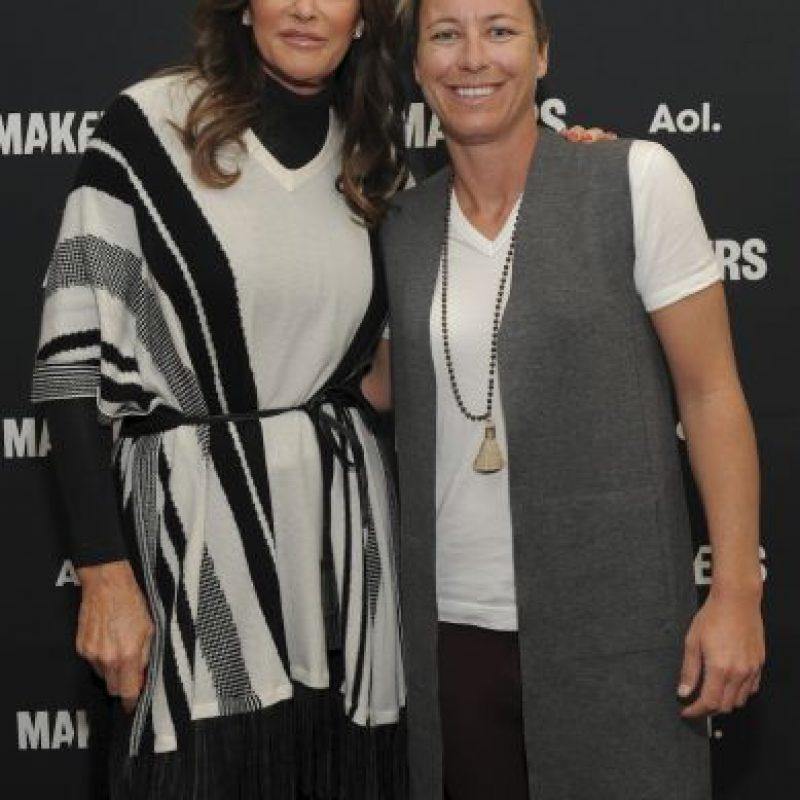 En el evento también estuvo Caytlin Jenner. Foto:Getty Images