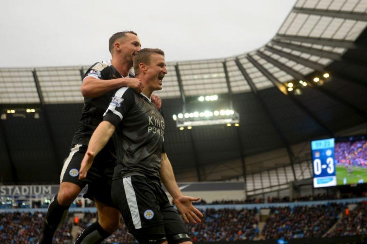 Leicester City es líder de la Premier League con 53 puntos. Foto:Getty Images