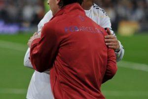 """La prensa se encarga de enfrentarlos cada que puede, pero el portugués ha elogiado al argentino en varias ocasiones: """"Es fantástico como profesional y es fantástico como jugador"""". Foto:Getty Images"""