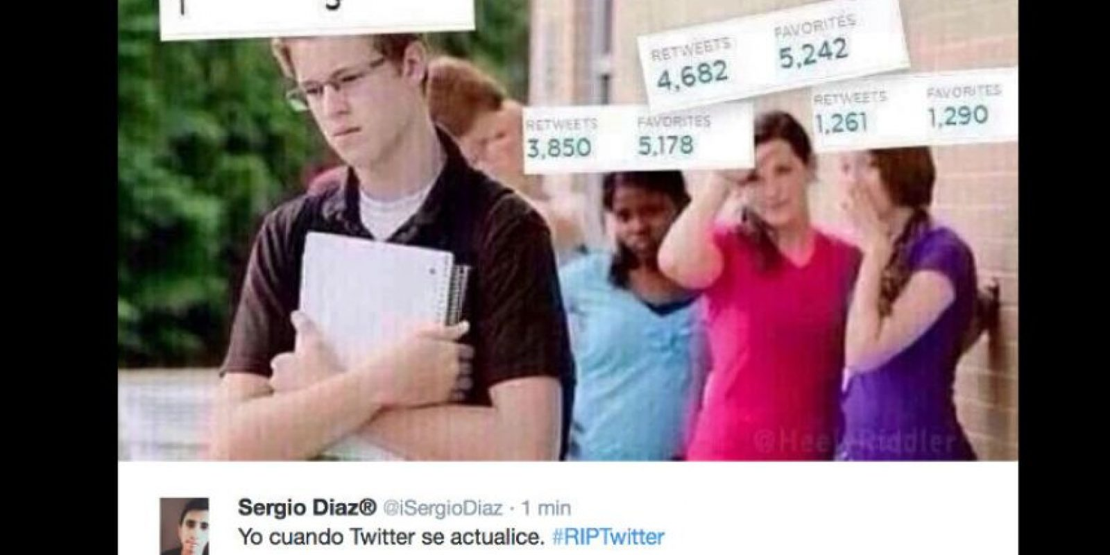 Aunque los ejecutivos de Twitter insistan en que harán la herramienta más accesible… Foto:vía Twitter