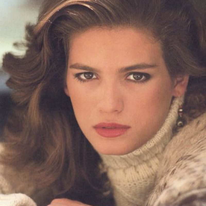 Gia Carangi fue la primera gran supermodelo de los 80. Foto:vía Getty Images