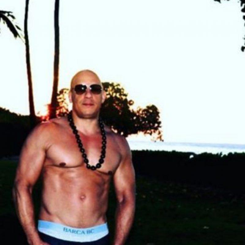 """Es muy conocido por su papel de Dominic Toretto en la saga de """"Rápido y Furioso"""". Foto:Vía instagram.com/vindiesel"""