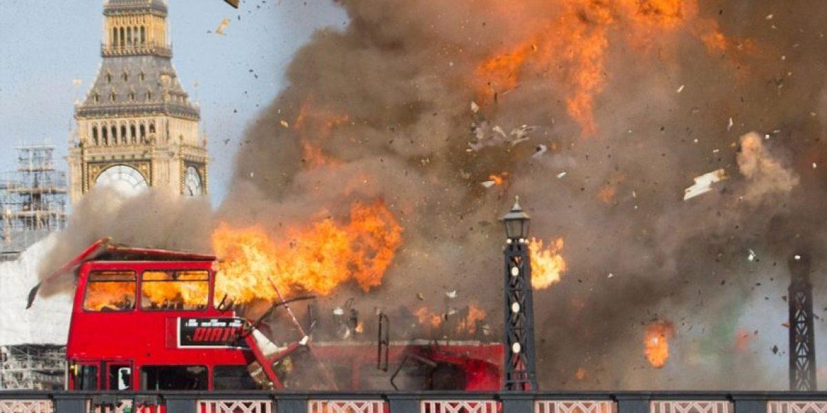 Estas imágenes de Londres impactaron a las redes, pero no se trata de un acto terrorista