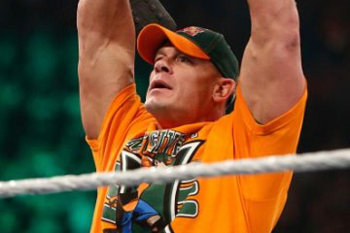 Cena jugó en el Springfield College. Foto:Getty Images
