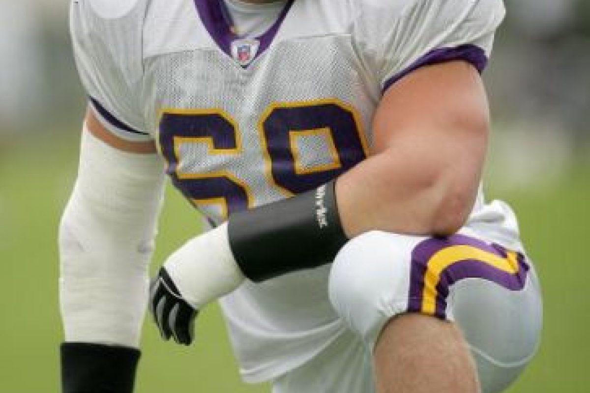 Estuvo con los Vikings de Minesotta y jugó la pretemporada y luego fue al equipo de prácticas. Foto:Getty Images