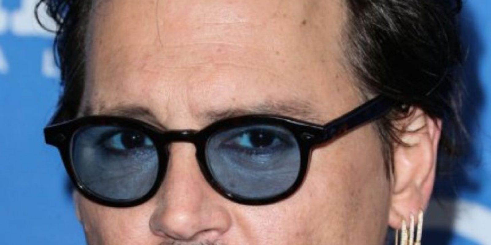 Johnny Depp descuidó tanto su aspecto en todo sentido, que luce así. Foto:vía Getty Images