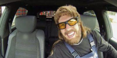 4. Mecánico como Sebastian Vettel Foto:Twitter