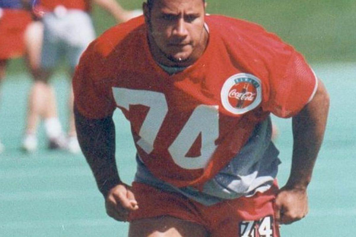 Durante su época universitaria jugó con los Hurricanes de Miami y fue campeón de la NCAA. Foto:Twitter
