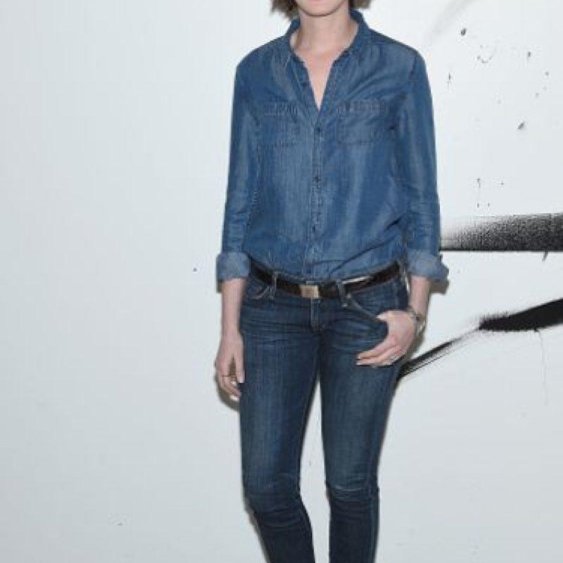 Anne Hathaway respondió antes de que le preguntaran si hizo deporte para su papel. Lo devolvió preguntándole al periodista si él perdió peso. Foto:vía Getty Images