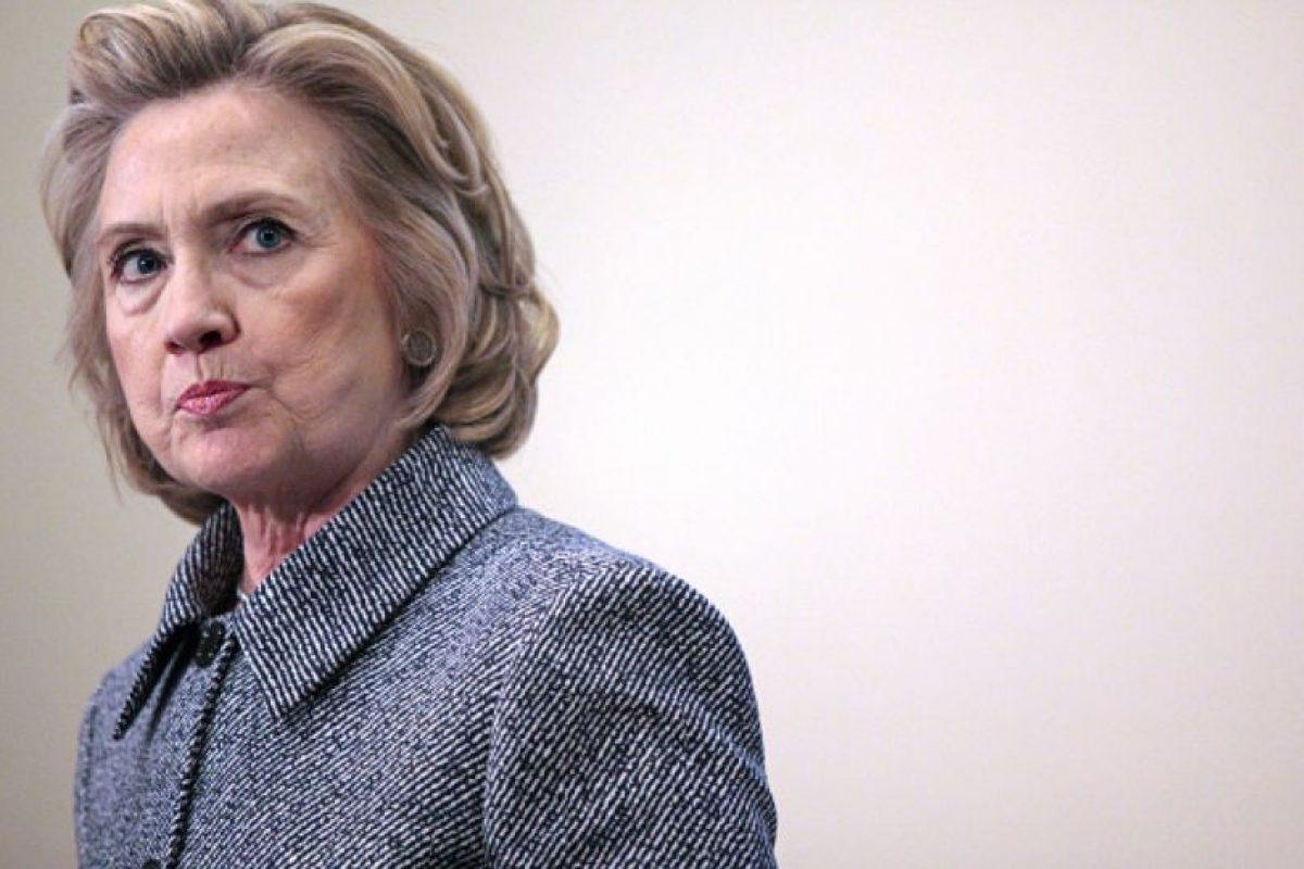 """A Hillary Clinton le preguntaron sobre su diseñador favorito. Ella respondió: """"¿Le habría preguntado eso a un hombre?"""". Foto:vía Getty Images"""