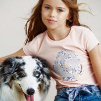 Comenzó en el modelaje a los tres años. Foto:vía Facebook/Kristina Pimenova