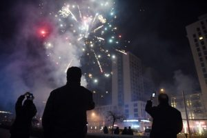 Debido a que esta festividad es tradiconal, en cualquier país donde haya inmigrantes chinos, se pueden ver festejos. Foto:AFP