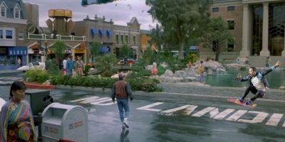 Así se vería en la película Volver al Futuro II Foto:Imgur / Reddit