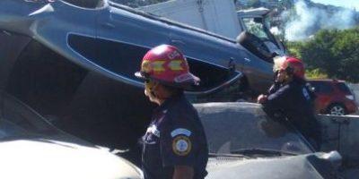 Fotos. El accidente múltiple en el bulevar Vista Hermosa