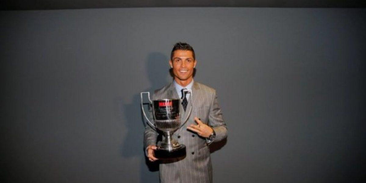 Cristiano Ronaldo recibe tercer Pichichi de la Liga Española