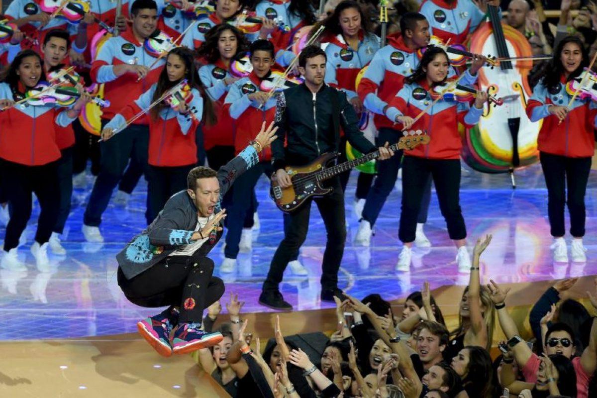 """E interpretaron """"Viva la Vida"""". Foto:Getty Images"""