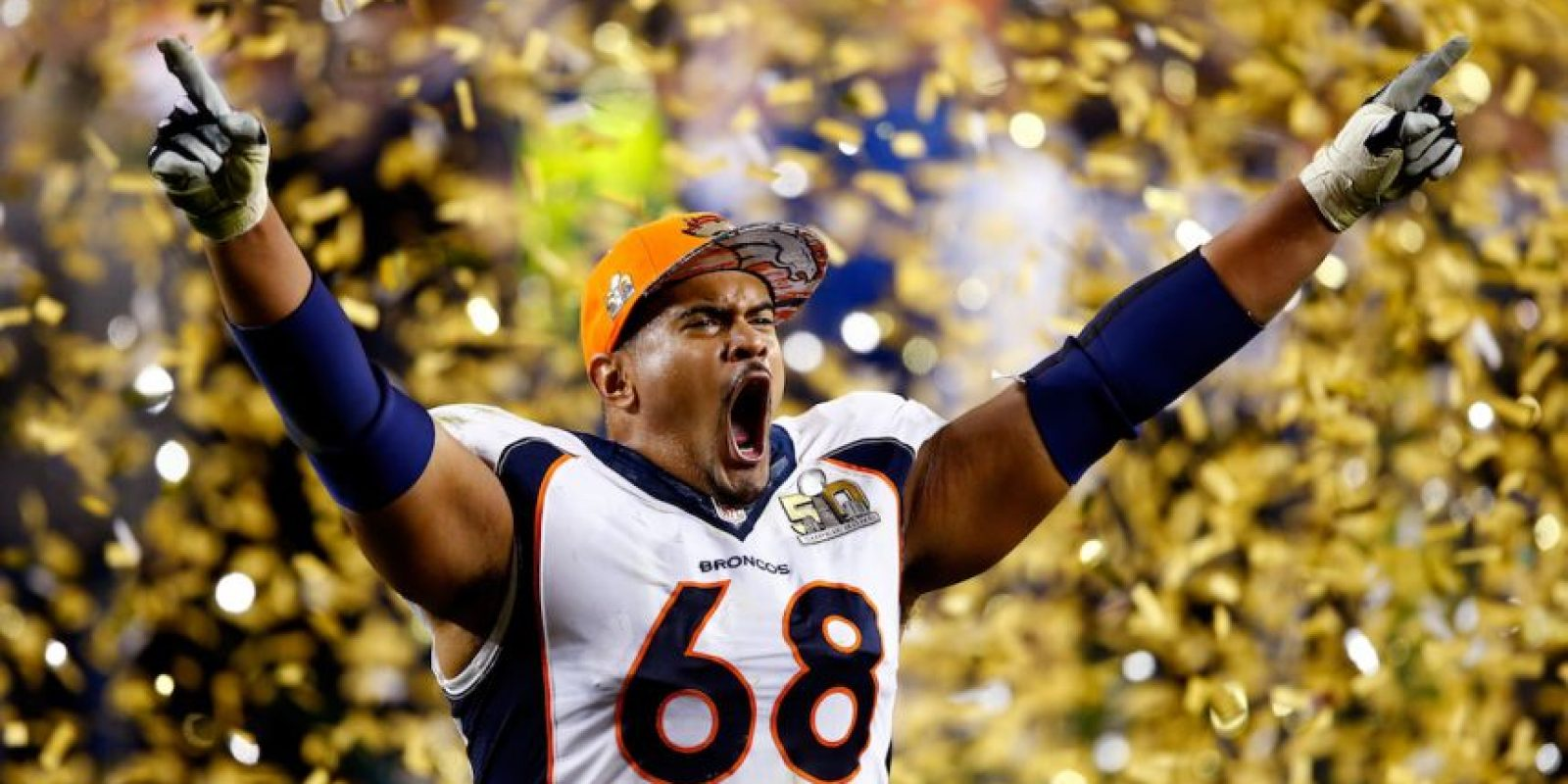 Ryan Harris celebró eufórico la victoria. Foto:Getty Images