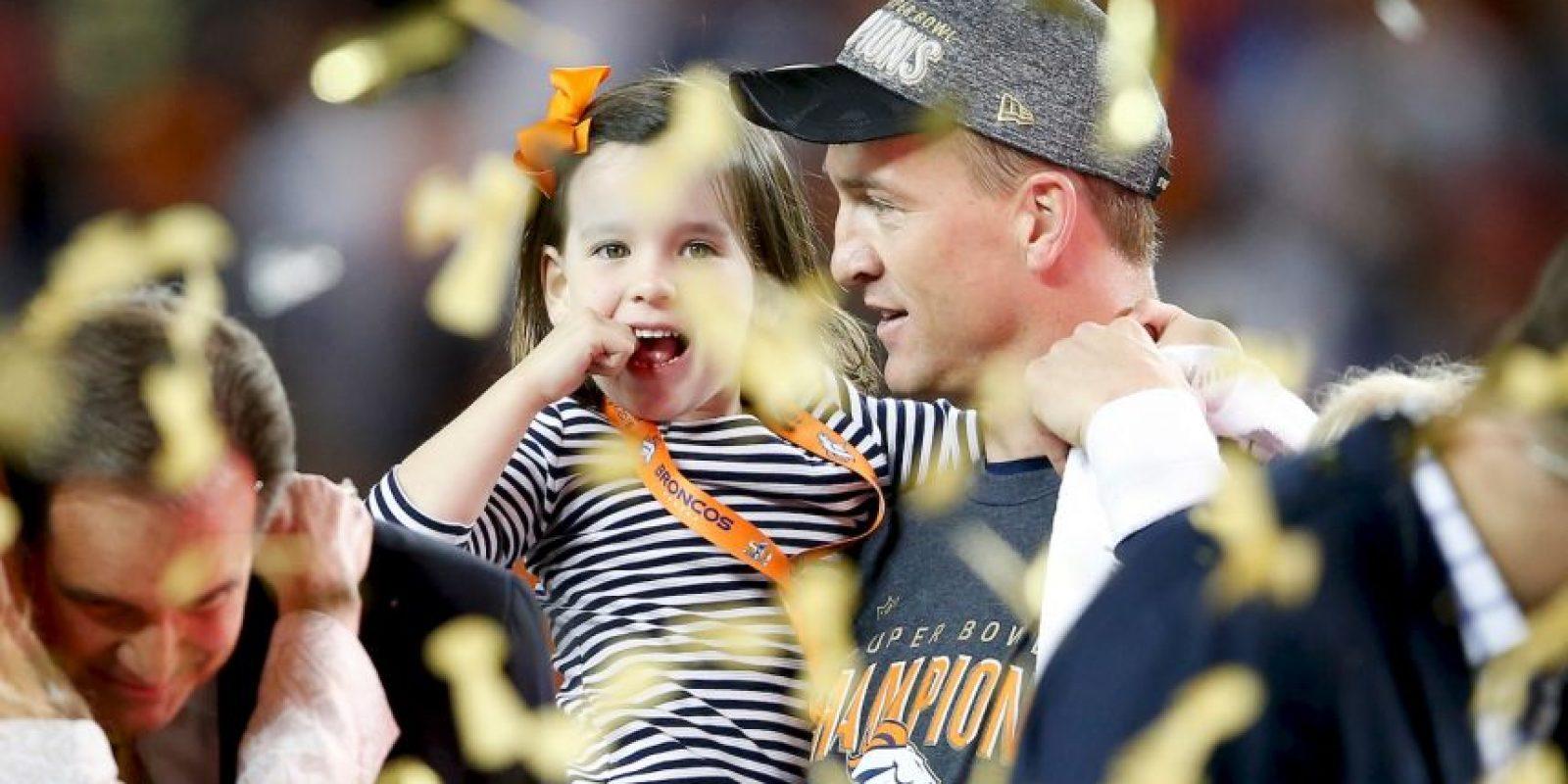 Y el amor de su familia. Foto:Getty Images