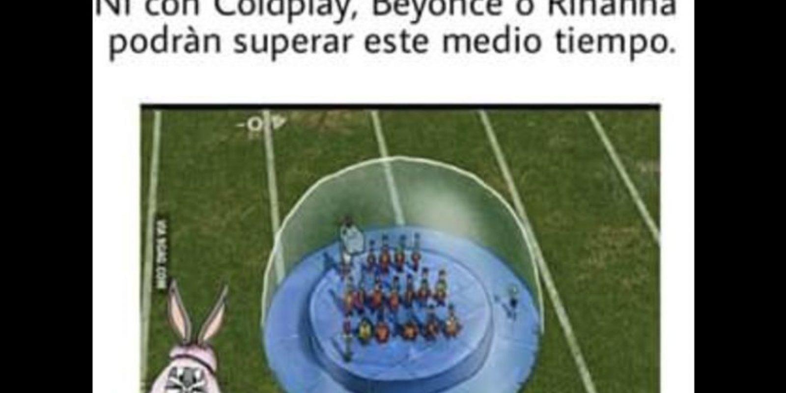 """Las comparaciones con un episodio de """"Bob Esponja"""" fueron las favoritas de los internautas. Foto:Vía twitter.com"""