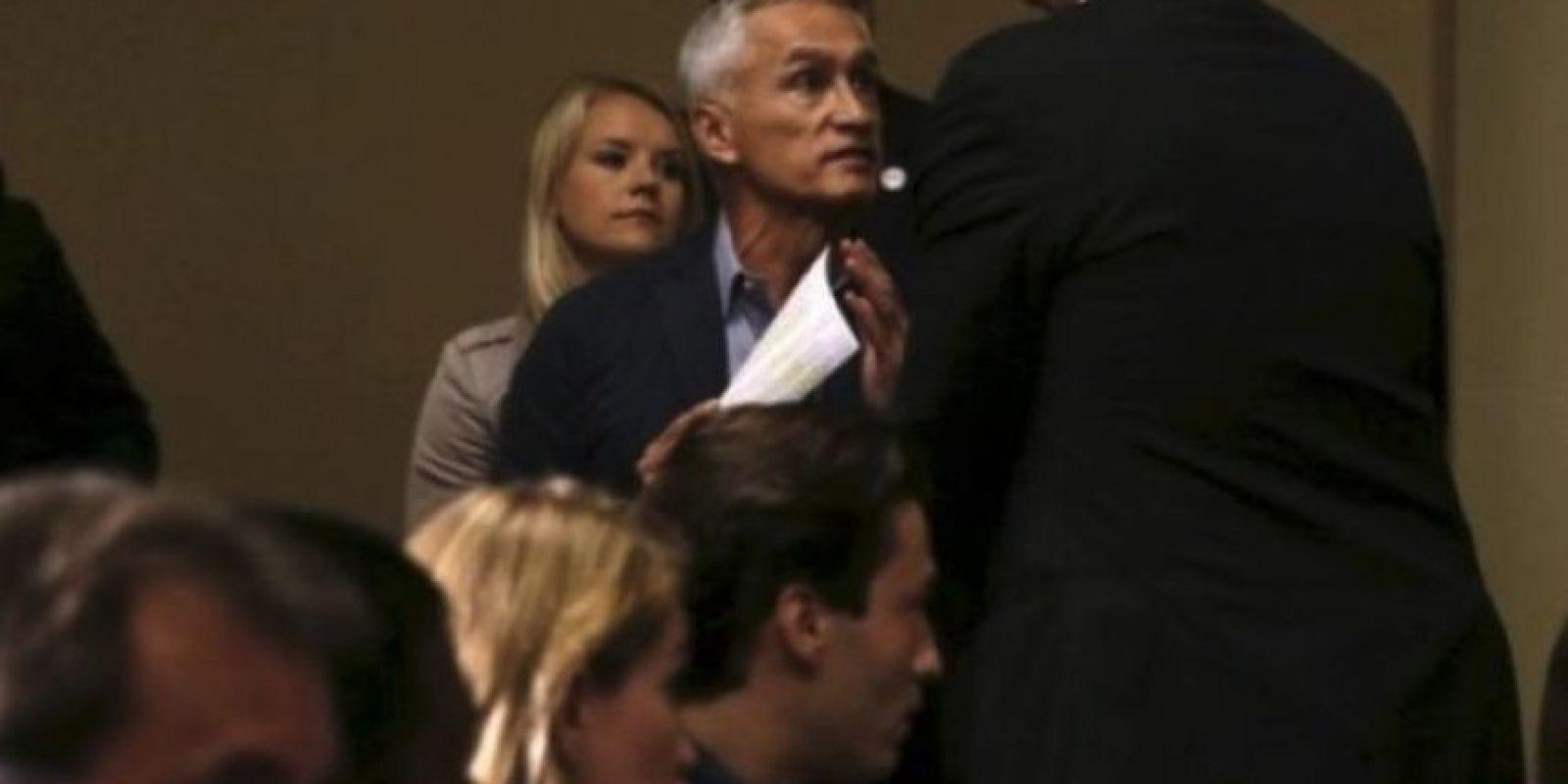 Jorge Ramos fue expulsado por Trump de una de sus conferencias Foto:AP