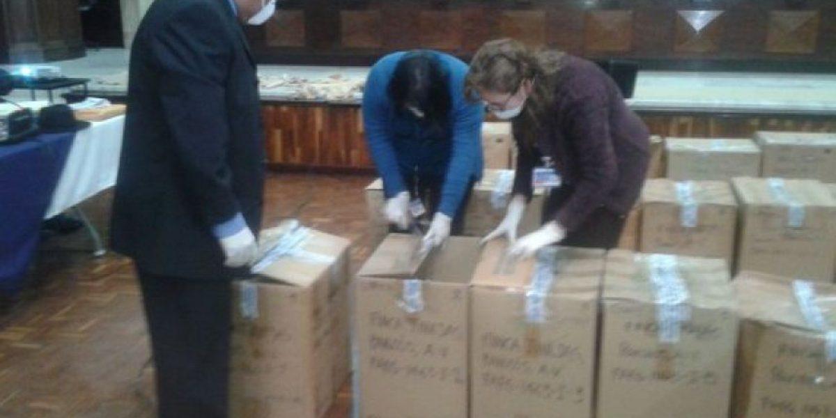 #SepurZarco Exponen las osamentas de 48 desaparecidos en Tribunal