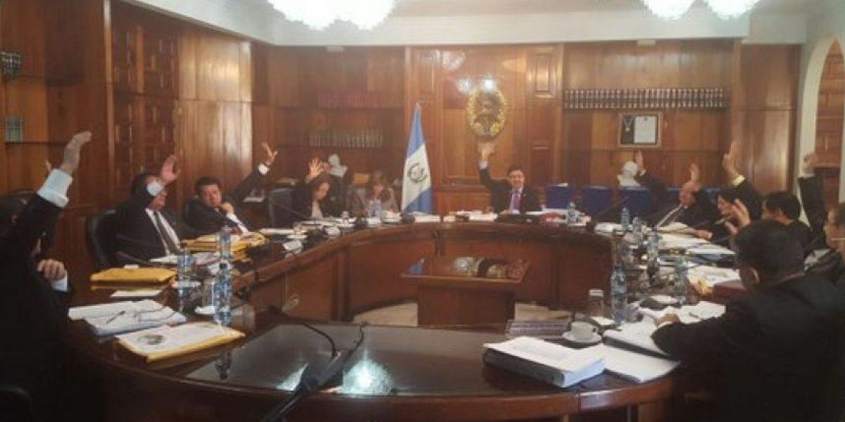 CSJ deja cinco candidatos fuera en el proceso de magistrados a la CC