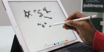 Apple Pencil responde a diferentes tipos de presión. Foto:Nicolás Corte