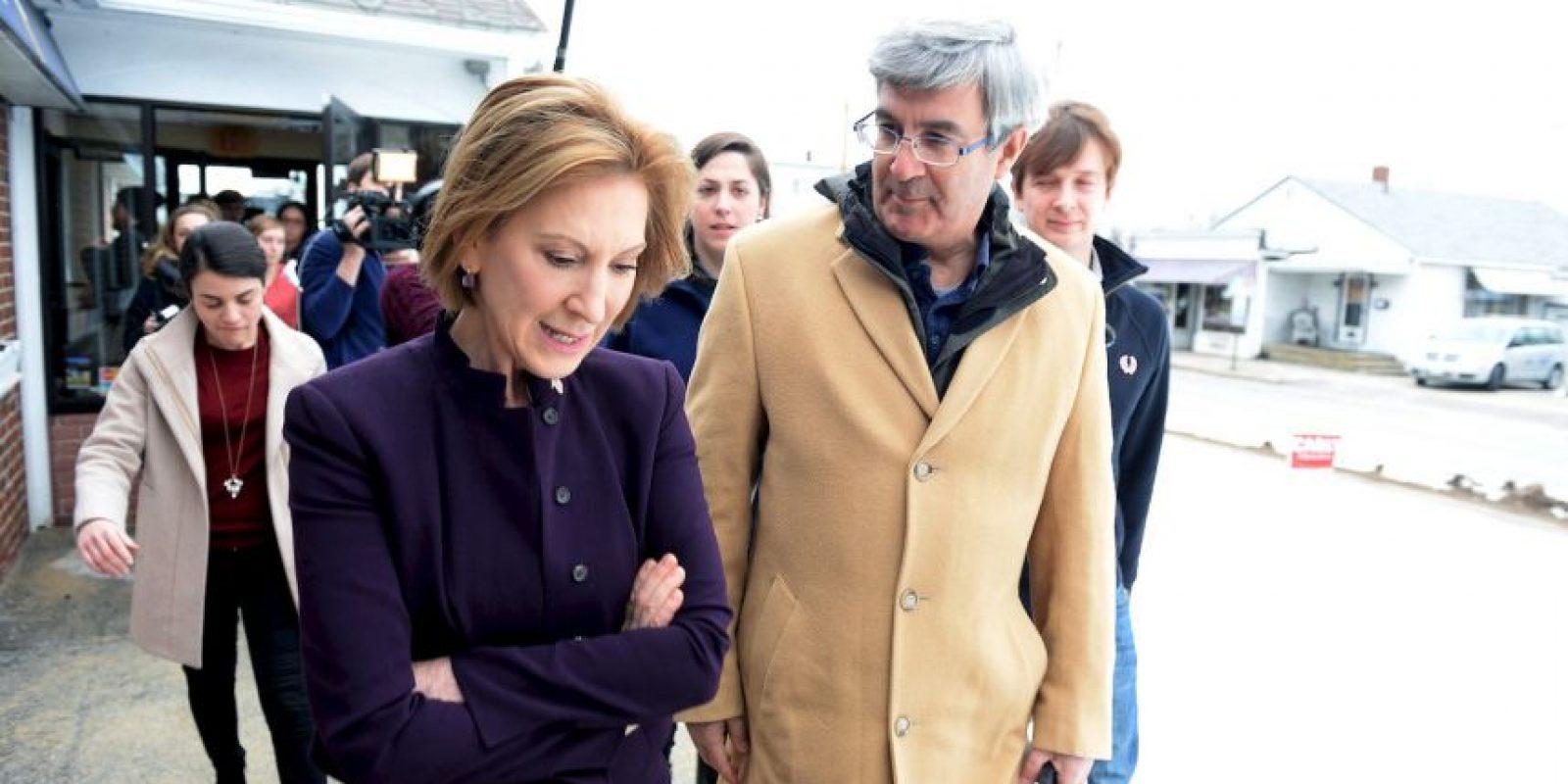 En los primeros debates republicanos logró posicionarse, pero no tanto como para ganar un buen lugar en las elecciones de New Hampshire. Foto:AFP