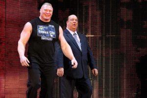 Salvajes como Brock Lesnar Foto:WWE