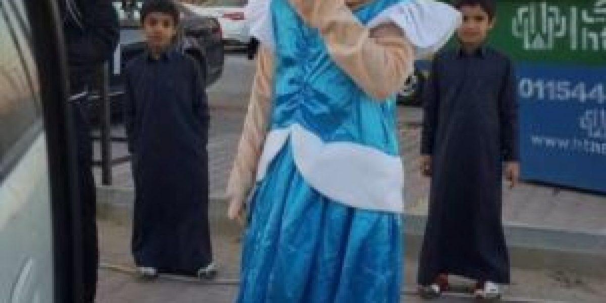 Arrestan a botarga en Arabia Saudita por