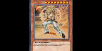 "La carta de Yu-Gi-Oh! llamada ""Tyler el Guerrero"" se inspiró en Trunks del futuro Foto:Toei"