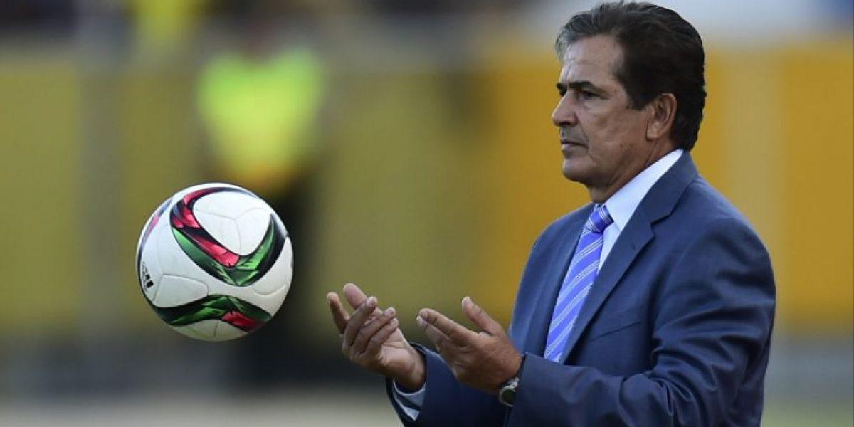 Jorge Luis Pinto habla sobre el juego ante Guatemala