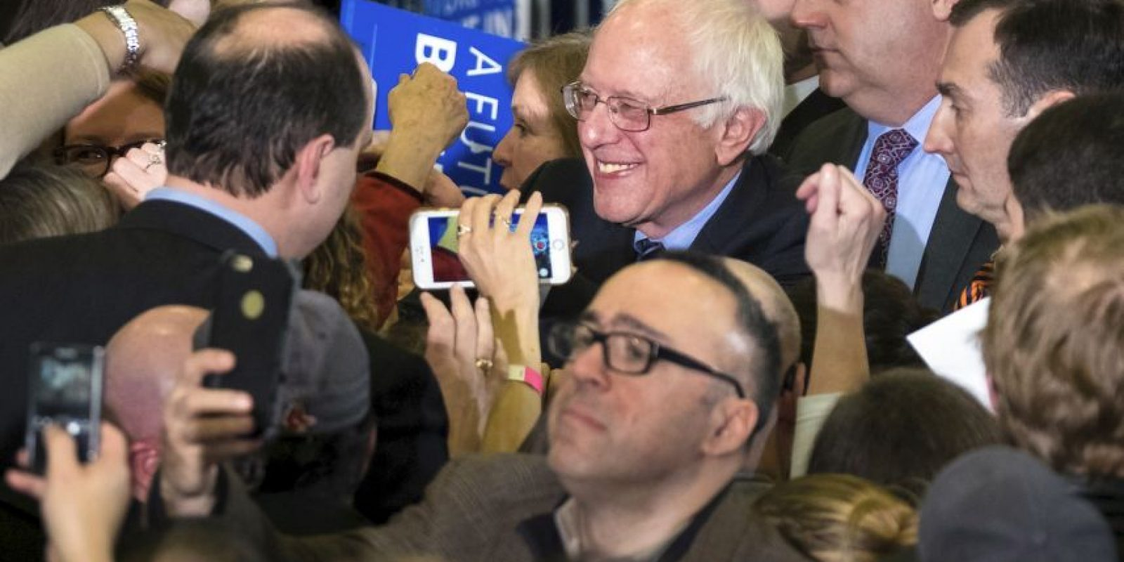 Trump y Sanders, los favoritos en New Hampshire Foto: AP