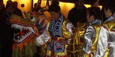 La noche china del Espanyol que se convirtió en fiesta azteca