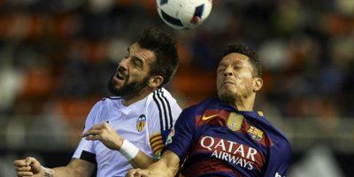 Los culés vencieron 8-1 en el marcador global al Valencia Foto:Getty Images
